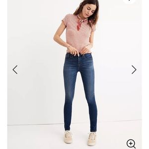 """Madewell 10"""" Rise High-Rise Skinny Jeans 27P"""